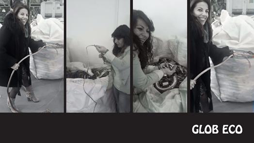 GLOB ECO di Molfetta sul comò 2.0:  l'arte del riciclo creativo